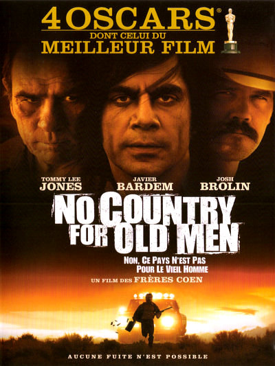 sortie vod, dvd et blu-ray No Country for Old Men