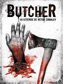 affiche sortie dvd butcher - la legende de victor crowley