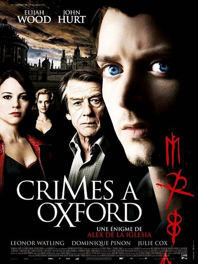 sortie vod, dvd Crimes à Oxford