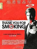 affiche sortie dvd Thank you for smoking