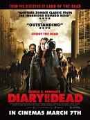 affiche sortie dvd diary of the dead - chronique des morts vivants