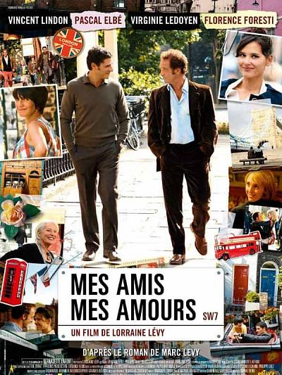 sortie vod, dvd Mes amis, mes amours
