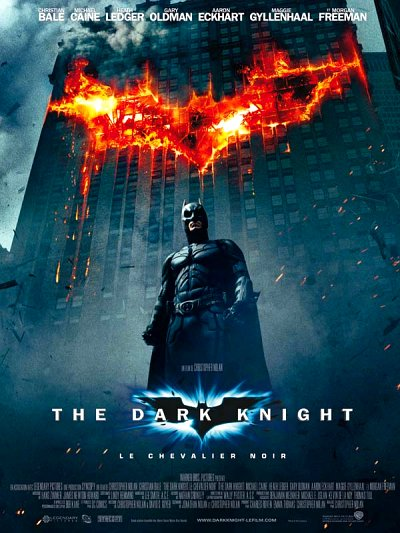 sortie vod, dvd et blu-ray The Dark Knight, Le Chevalier Noir