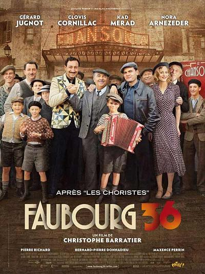 sortie vod, dvd et blu-ray Faubourg 36