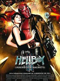 affiche sortie dvd Hellboy II - les légions d'or maudites