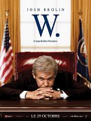 affiche sortie dvd w. l'improbable president