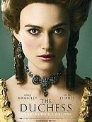 affiche sortie dvd the duchess