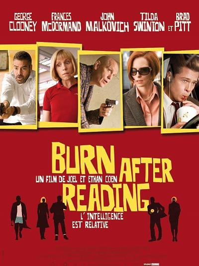 sortie vod, dvd et blu-ray Burn After Reading
