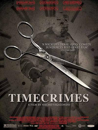 sortie vod, dvd Time crimes