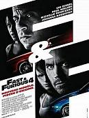 affiche sortie dvd Fast and Furious 4