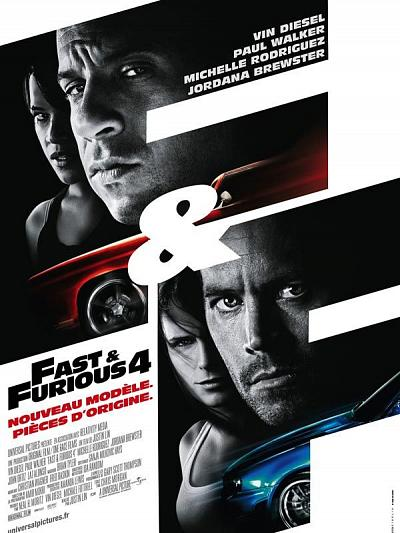 sortie vod, dvd et blu-ray Fast and Furious 4