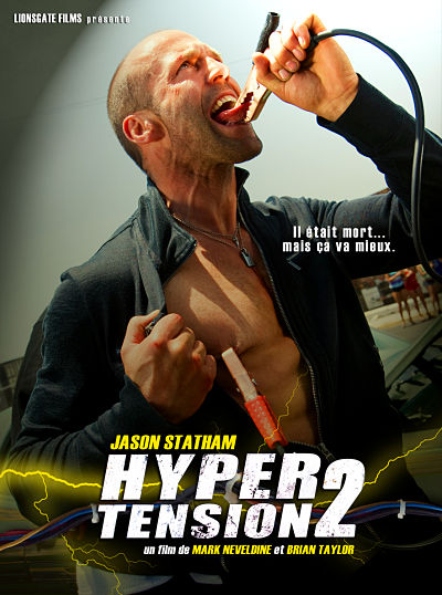 sortie vod, dvd et blu-ray Hyper tension 2 - Crank high Voltage