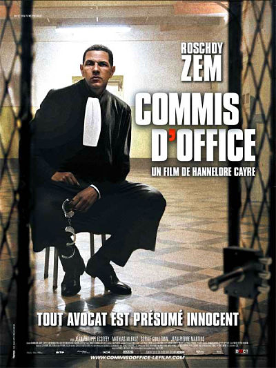 sortie vod, dvd Commis d'office