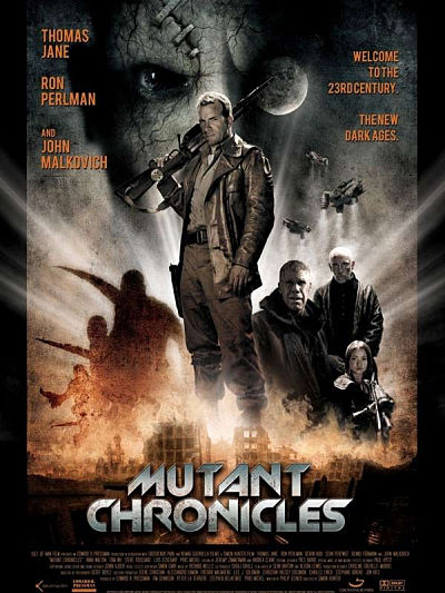 sortie vod, dvd Mutant chronicles