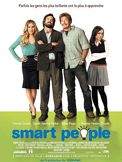 sortie dvd Smart people