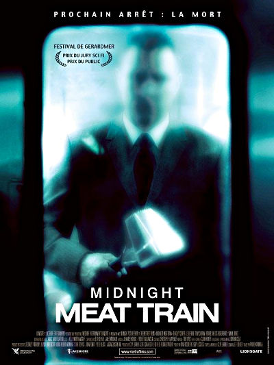 sortie vod, dvd et blu-ray Midnight meat train