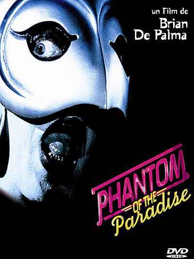 sortie dvd et blu-ray Phantom of the paradise