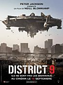 affiche sortie dvd District 9