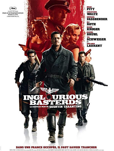 sortie vod, dvd et blu-ray Inglourious basterds