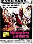 affiche sortie dvd The Vampire Lovers