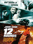 affiche sortie dvd 12 rounds - Shoot & Run