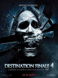 affiche sortie dvd destination finale 4