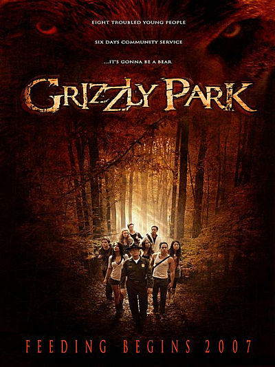 sortie dvd et blu-ray Grizzly Park