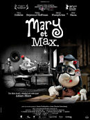 affiche sortie dvd Mary et Max