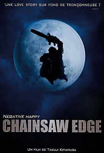 sortie vod, dvd Negative happy chainsaw edge