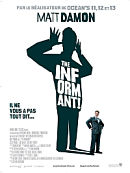 affiche sortie dvd The Informant !