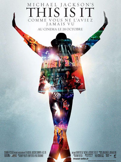 sortie vod, dvd et blu-ray Michael Jackson's This Is It