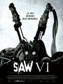 affiche sortie dvd saw 6