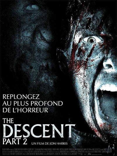 sortie vod, dvd et blu-ray The Descent - Part 2