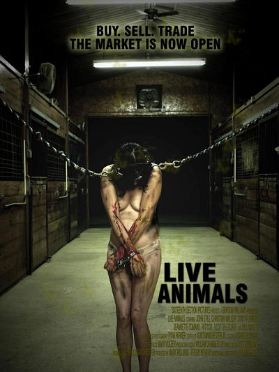 sortie vod, dvd Live Animals