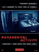 sortie dvd paranormal activity