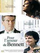 sortie dvd pour l'amour de Bennett