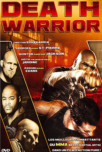 sortie dvd Death Warrior