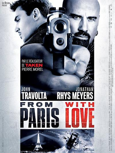 sortie vod, dvd et blu-ray From Paris With Love