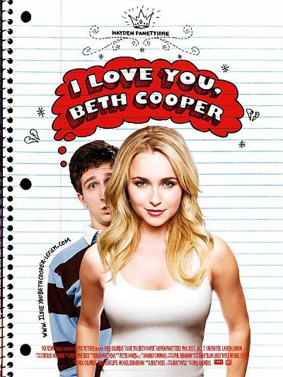 sortie vod, dvd I Love You, Beth Cooper