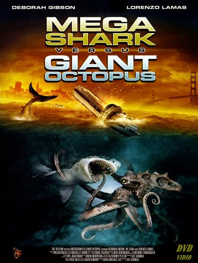 sortie vod, dvd Mega Shark vs. Giant Octopus