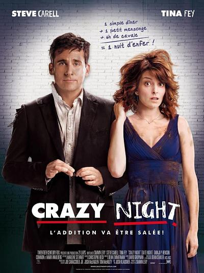 sortie vod, dvd et blu-ray Crazy Night