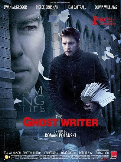 sortie vod, dvd et blu-ray The Ghost Writer