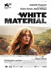 affiche sortie dvd White Material