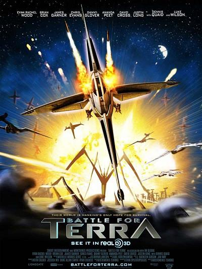 sortie dvd et blu-ray Battle For Terra