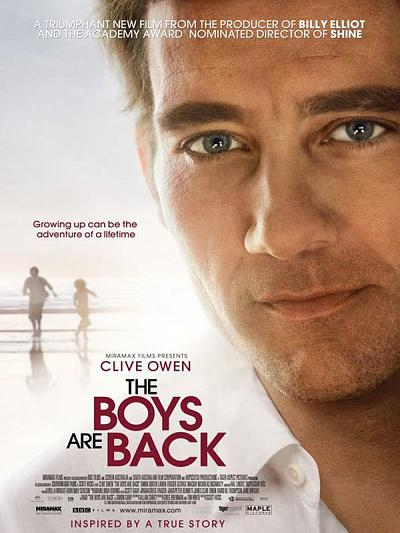 sortie vod, dvd The Boys Are Back