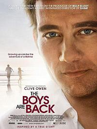 affiche sortie dvd The Boys Are Back