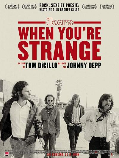 sortie dvd et blu-ray When You're Strange