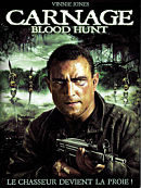 affiche sortie dvd carnage - blood hunt