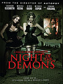 affiche sortie dvd night of the demons
