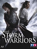 affiche sortie dvd The Storm Warriors